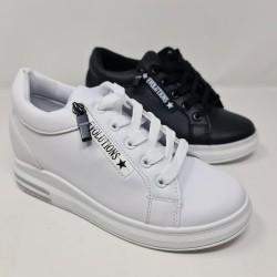 Sneakers Cremallera Cuña Interior 2d0yd1453