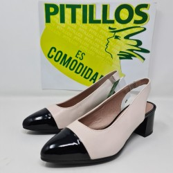 Zapato Pitillos V20 Negro...