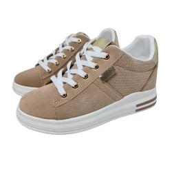Sneaker Cuña Interior Mod Ec8649 Ro